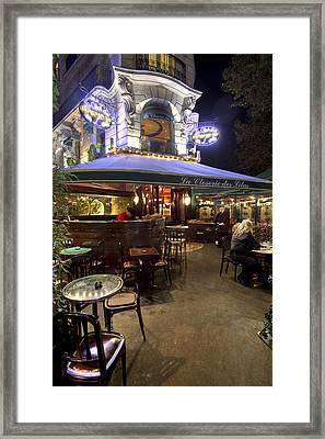 La Closerie Des Lilas Framed Print