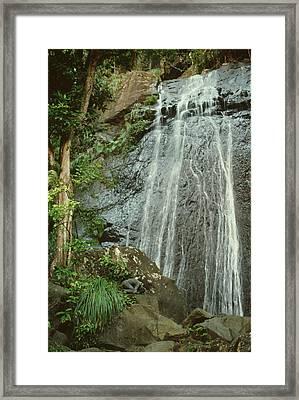 La Coca Falls 2 Framed Print by Filippo Ioco