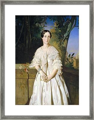 La Comtesse De La Tour Maubourg Framed Print by MotionAge Designs