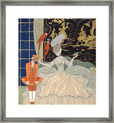 La Comtesse From Personages De Comedie Framed Print