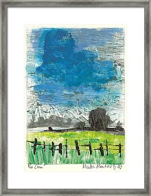 La Crau Framed Print by Martin Stankewitz