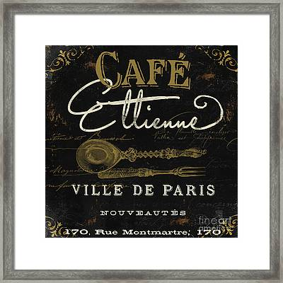 La Cuisine I Framed Print by Mindy Sommers