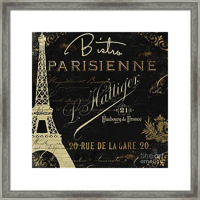 La Cuisine Vi Framed Print by Mindy Sommers