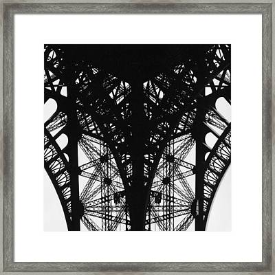 La Dame De Fer Framed Print by Hans Mauli