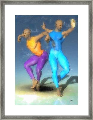 La Danza Del Fenix Framed Print