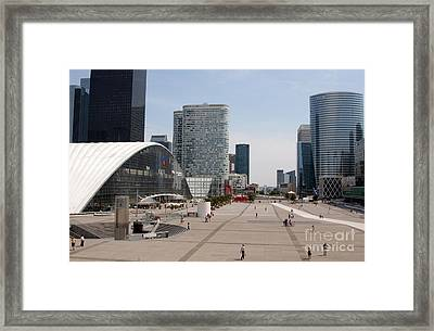 La Defense Framed Print by Andy Smy