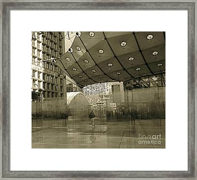 La Defense Framed Print