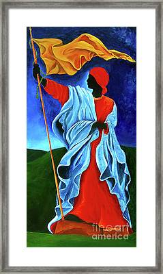 La Dessalinienne Framed Print by Patricia Brintle