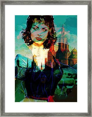 la dispositif sexuelle ma Sophia  Framed Print by Paul Sutcliffe