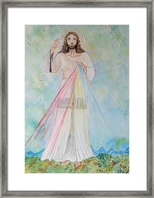 La Divina Misericordia Framed Print