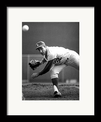 Baseball Gloves Framed Prints