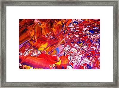La Donna-detail Framed Print by Adolfo hector Penas alvarado