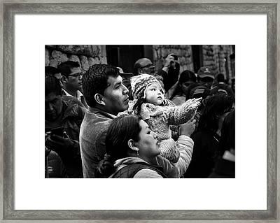 La Familia Framed Print by Jane Selverstone