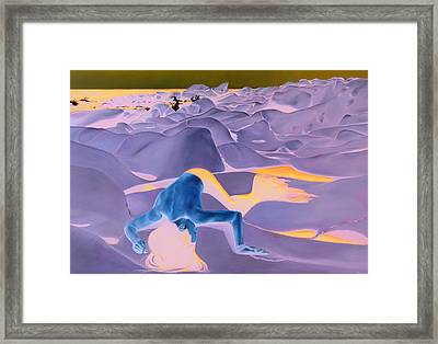 La Fin Des Illusions 2 Framed Print by Helene Fleury
