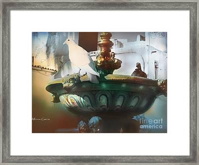 La Fuente De Ayamonte Framed Print by Alfonso Garcia