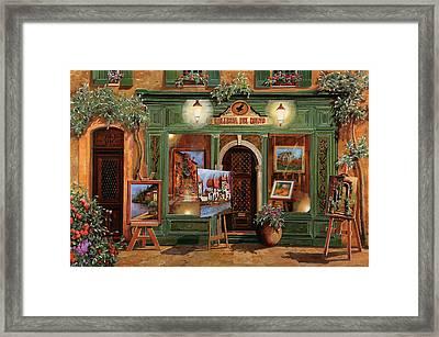 La Galleria Del Corvo Framed Print