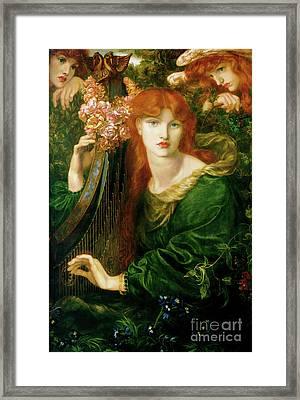 La Ghirlandanta Framed Print by Art Anthology