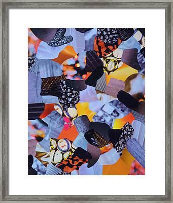L.a. Glow Framed Print by Hannah Healy