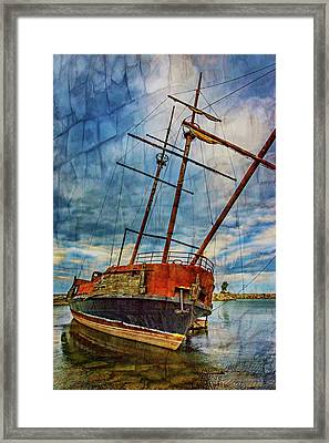 La Grande Hermine 2 - Overlay Framed Print by Steve Harrington