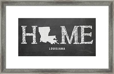La Home Framed Print