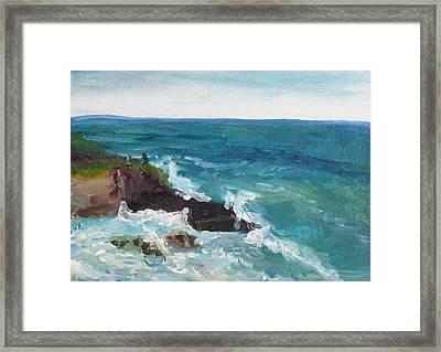 La Jolla Cove 006 Framed Print