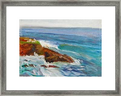 La Jolla Cove 008 Framed Print