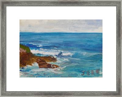 La Jolla Cove 009 Framed Print