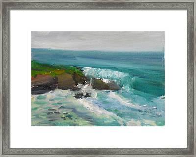 La Jolla Cove 015 Framed Print