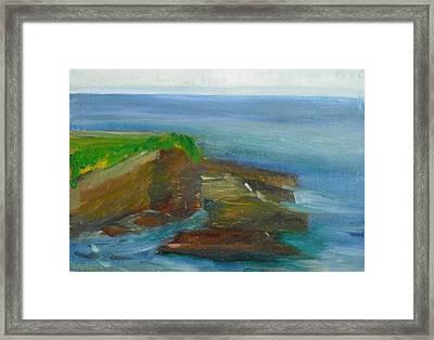 La Jolla Cove 016 Framed Print