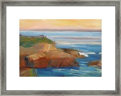 La Jolla Cove 018 Framed Print