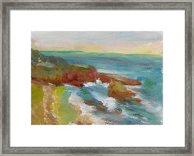 La Jolla Cove 019 Framed Print by Jeremy McKay