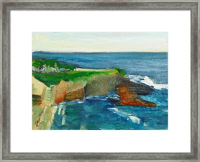 La Jolla Cove 021 Framed Print by Jeremy McKay