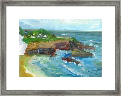 La Jolla Cove 022 Framed Print