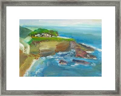 La Jolla Cove 025 Framed Print