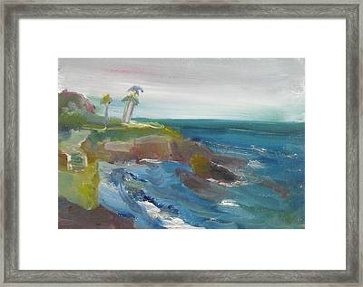 La Jolla Cove 028 Framed Print