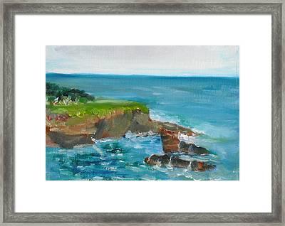 La Jolla Cove 030 Framed Print