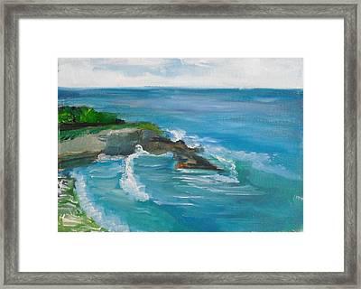 La Jolla Cove 033 Framed Print