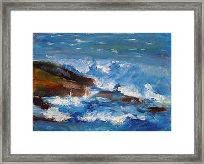 La Jolla Cove 035 Framed Print