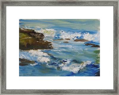 La Jolla Cove 036 Framed Print by Jeremy McKay