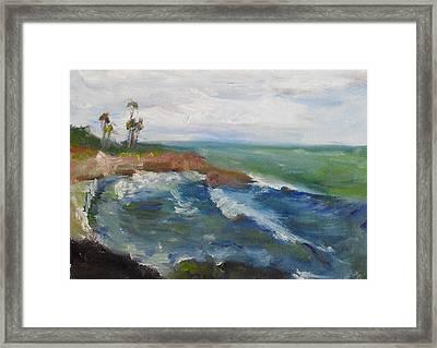 La Jolla Cove 039 Framed Print