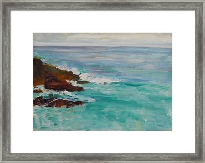 La Jolla Cove 040 Framed Print