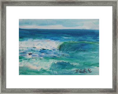 La Jolla Cove 044 Framed Print