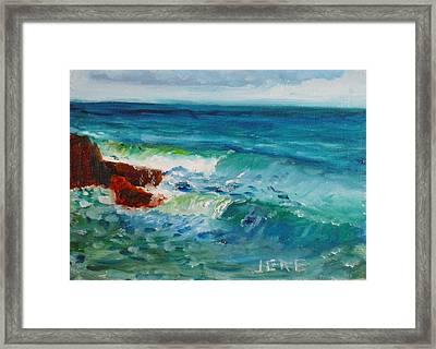 La Jolla Cove 046 Framed Print