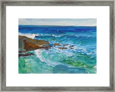 La Jolla Cove 048 Framed Print