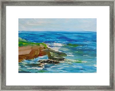 La Jolla Cove 052 Framed Print