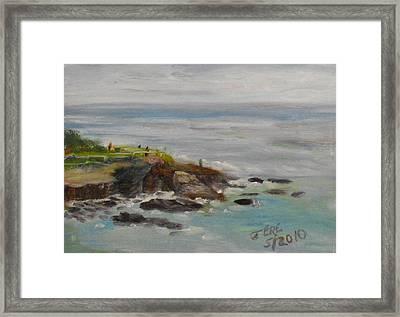 La Jolla Cove 053 Framed Print