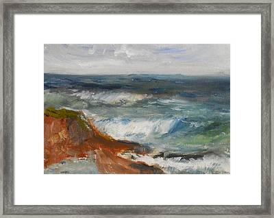 La Jolla Cove 058 Framed Print