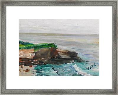 La Jolla Cove 069 Framed Print by Jeremy McKay