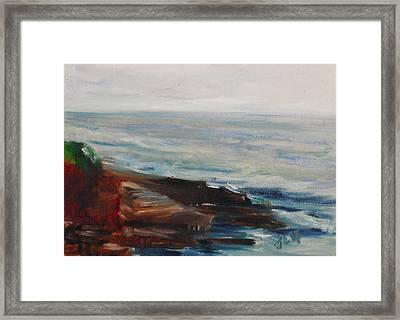 La Jolla Cove 070 Framed Print by Jeremy McKay