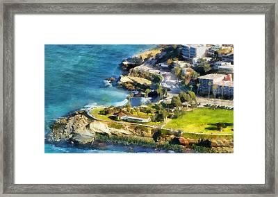 La Jolla Cove  Framed Print by Russ Harris